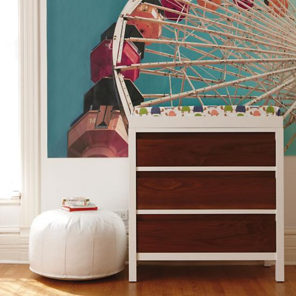 Wooden Flooring and Small Dresser Furniture Decorations for Inspiration