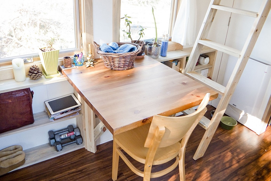 Wooden Furniture in Small Shaped for Home Inspiration