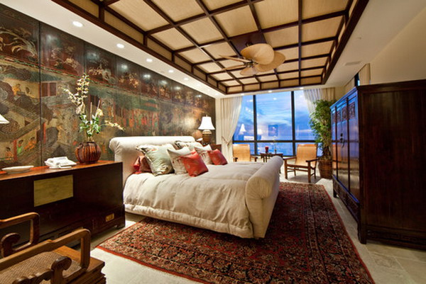Bedroom decorating ideas for an asian style bedroom for Asian inspired decor