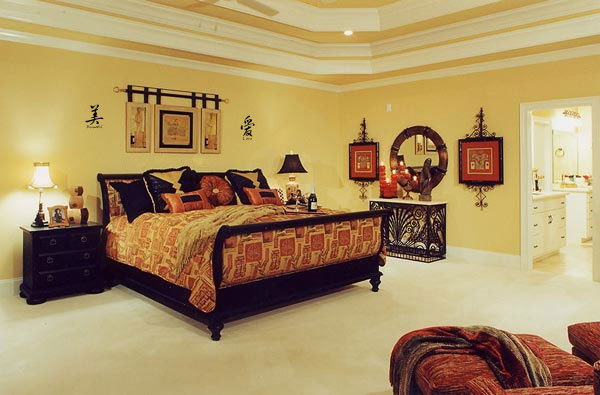 asian themed bedroom design