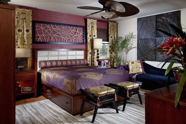 contemporary asian bedroom design