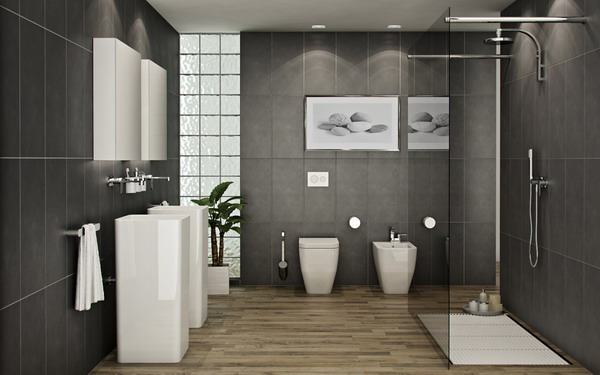 contemporary bathroom designs for small spaces