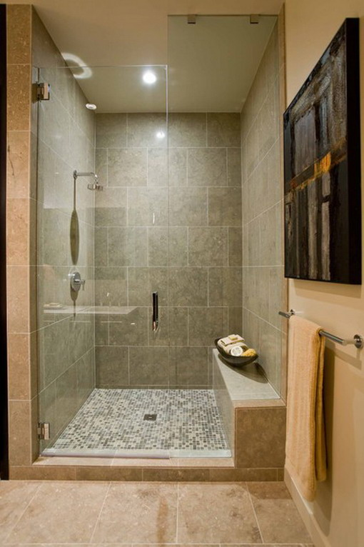 bathroom design is made up by different types of refined bathroom