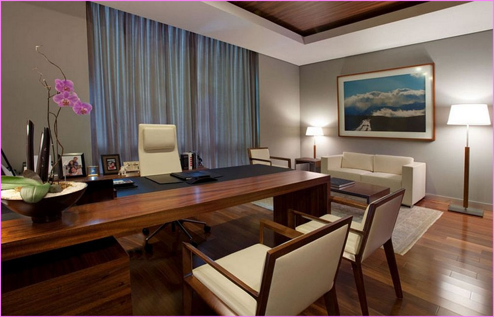 Decorating your executive office for Office decoration pictures gallery