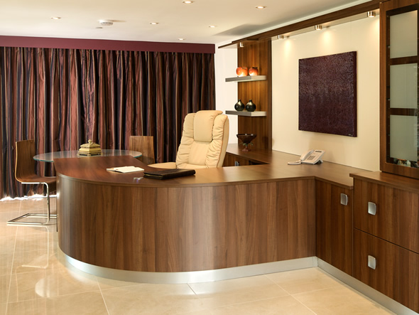 executive office interior design into an office that represents