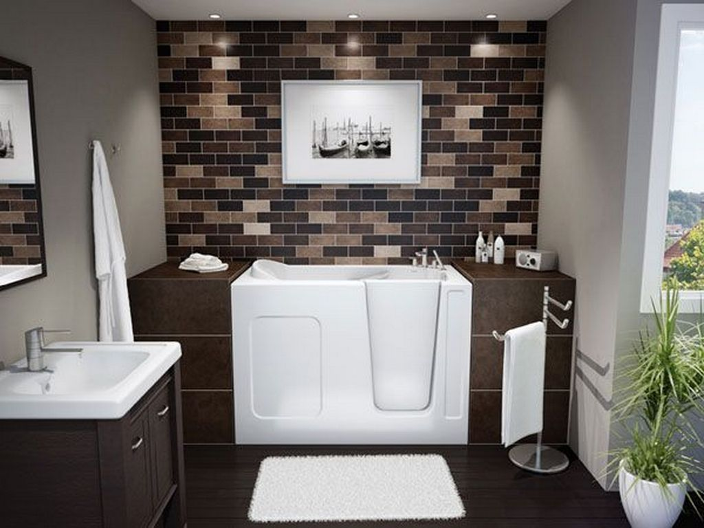 design a contemporary bathroom