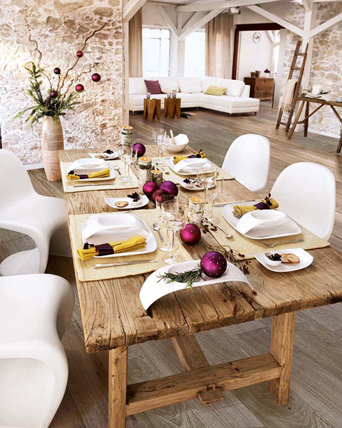 dining table decorations modern