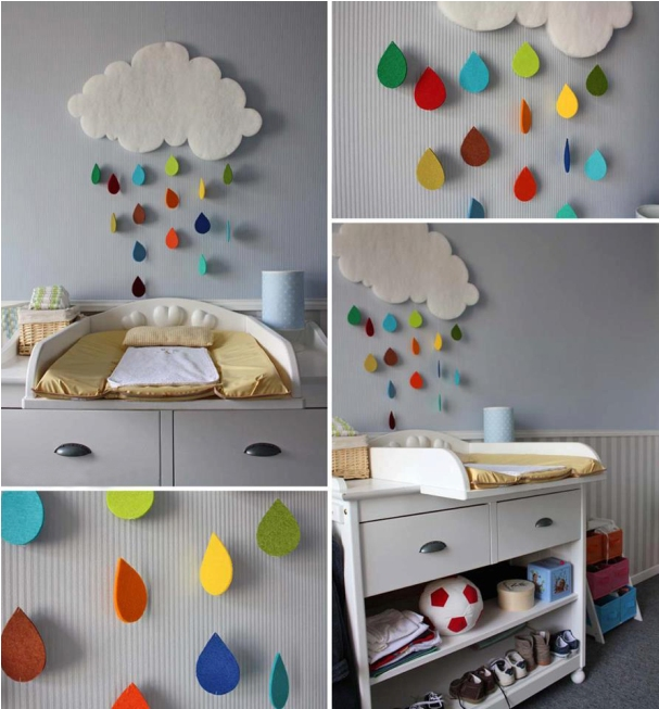 Faux Clouds for Children's Bedrooms