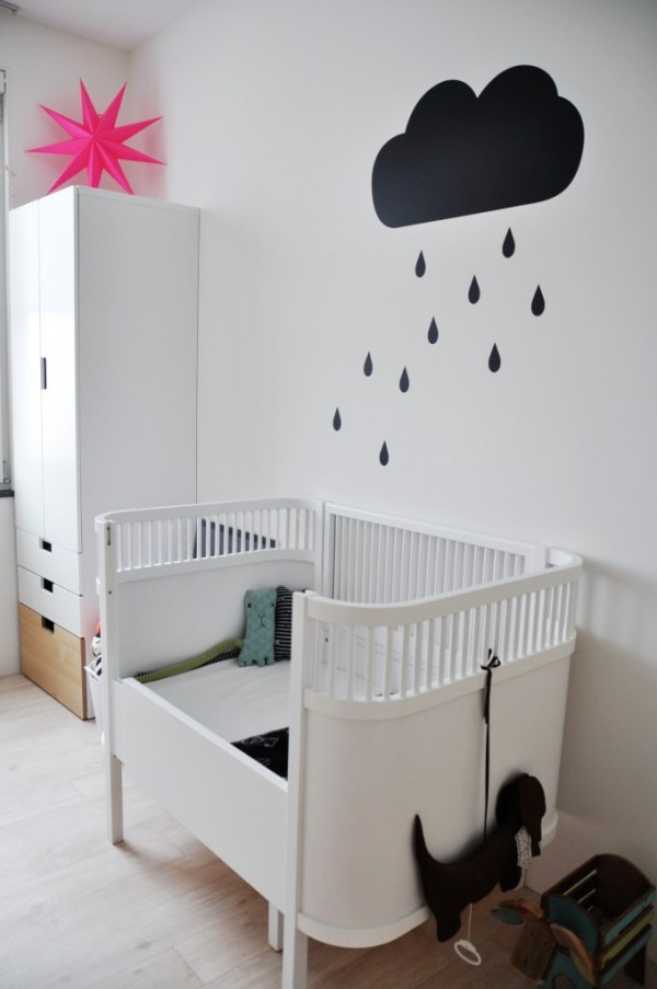 cloud wall decals for nursery