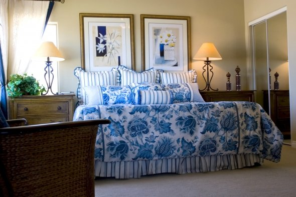 french country bedroom style