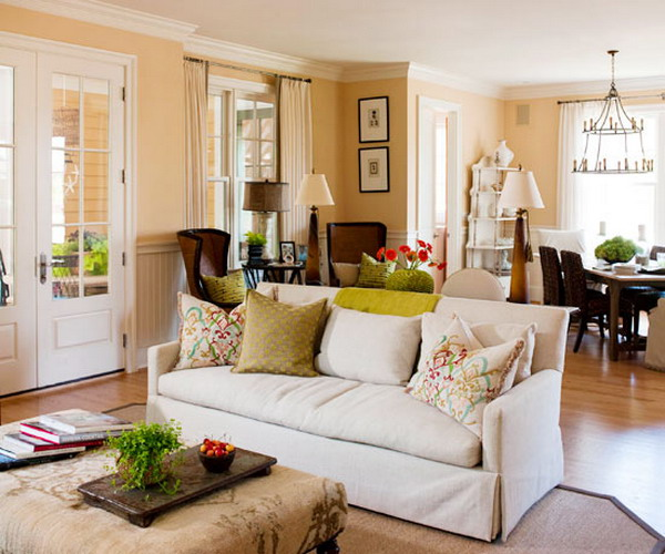 Decorating your home with neutral color schemes for Decorating with neutral walls