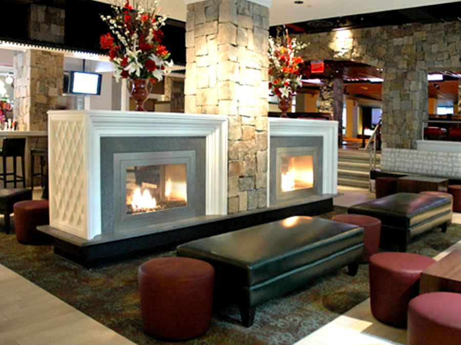 interior design fireplace wall