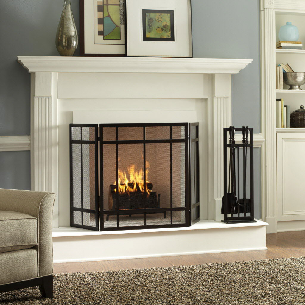 Ideas for interior design fireplaces for Fire place mantel ideas