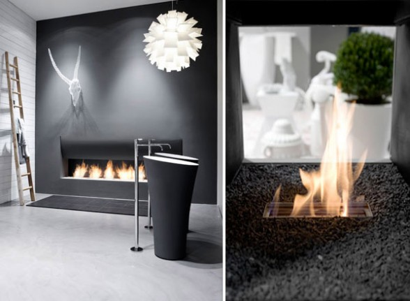 Ideas For Interior Design Fireplaces CozyHouzecom