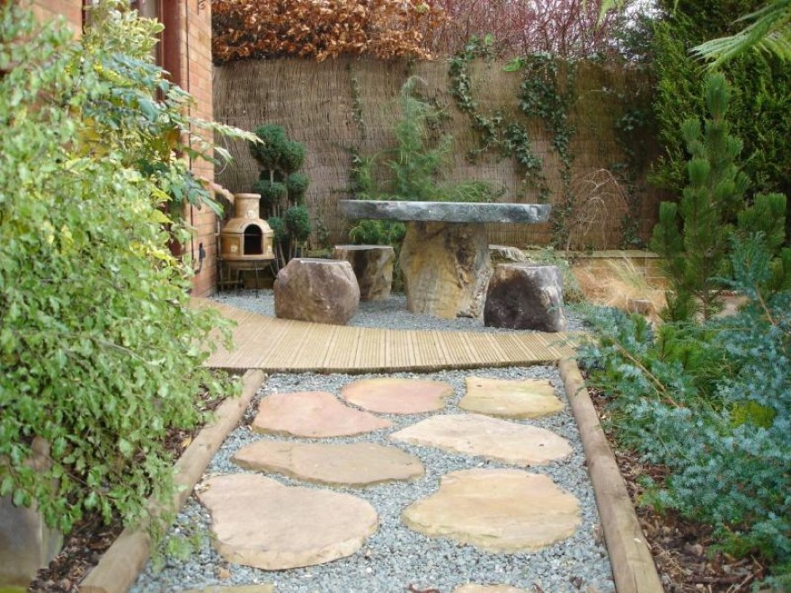 Japanese landscape design ideas for Beau jardin bath rocks
