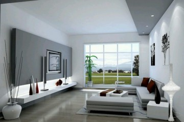 Modern Gray Living Room Decorating Ideas