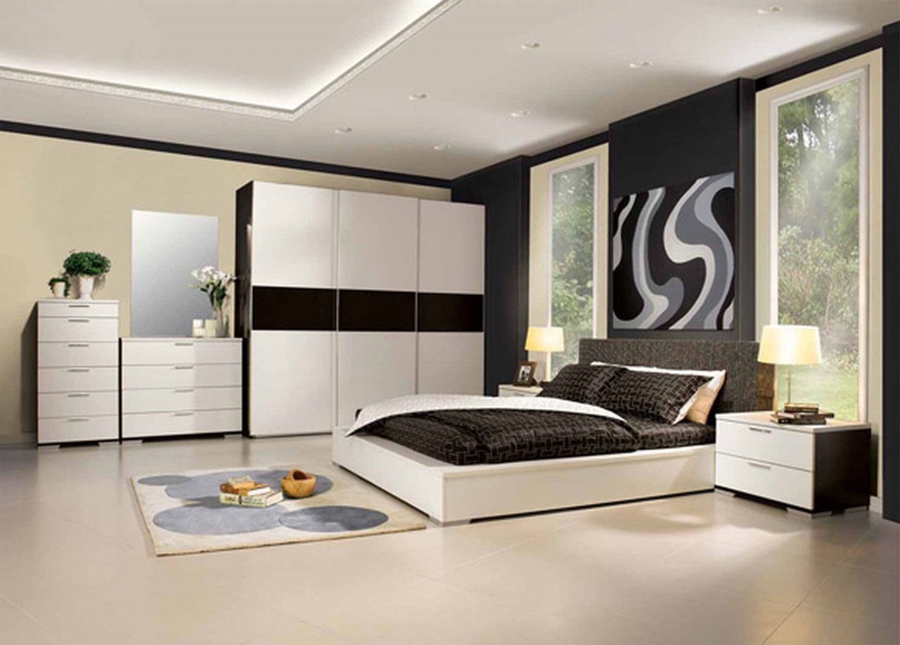 contemporary bedroom design photos