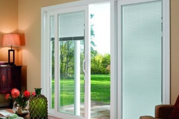 sliding glass door blinds