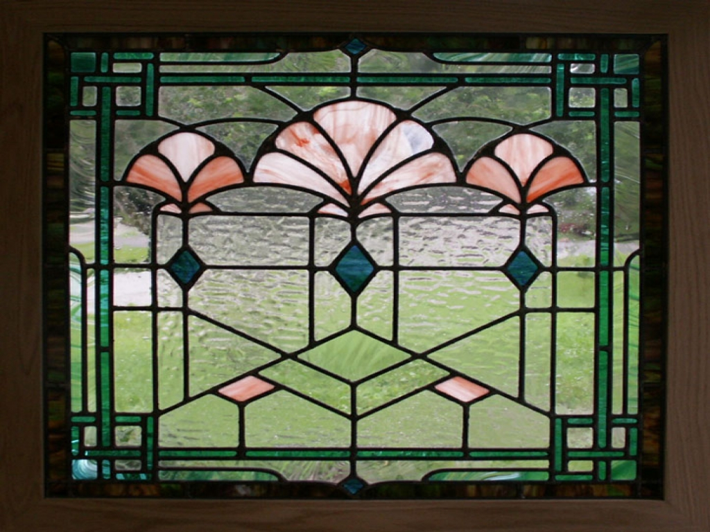 stained glass window film