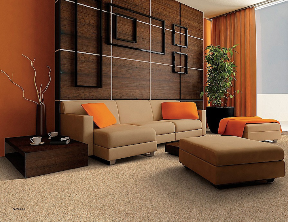 Choosing Your Living Room Furniture Designs - Orange Living Room