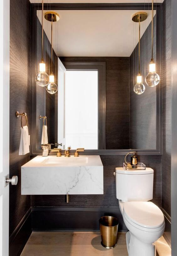 Large Mirror For Small Bathroom [Source: https://pin.it:5m6kEHB]