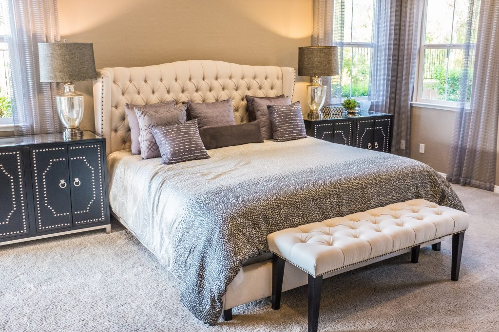 Luxurious Upholstered Headboard By Neonbrand [unsplash]