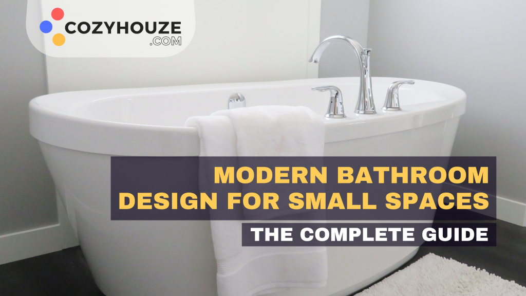 Modern Bathroom Design For Small Space - Featured